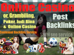 Guest Post for Gambling | Casino | Sports | Betting Sites DA20+