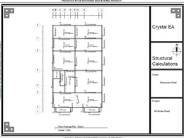 Provide Set of professional structural calculations&Plans