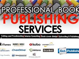 Publish Your Book For Createspace, Ingramspark,Kindle Or lulu