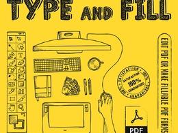 Create a Interactive PDF Form