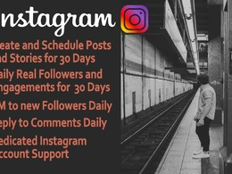 Create and Schedule Instagram Posts & Stories For marketing