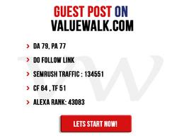 Guest post on ValueWalk- valuewalk.com - Do-Follow - DA79