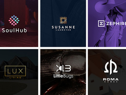 ⚡ Bespoke Modern and Clean Logo Design 3 Concepts +  Revisions ⚡