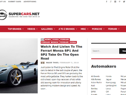 Guest post on Supercars.net automotive website – DA68
