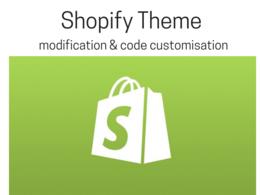 Modify your Shopify theme