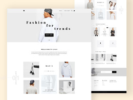 Create a HIGH-END homepage design (PSD only)