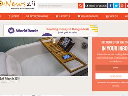 Guest post on Newszii.com news website – DA53