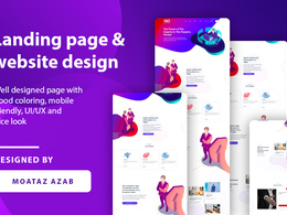 Create Incredible Responsive Landing Page, Website Design