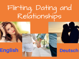 Write 500 words of relationship advice (English or German)!
