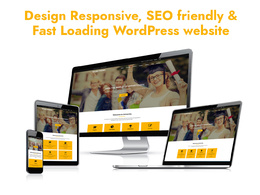 Design wordpress website