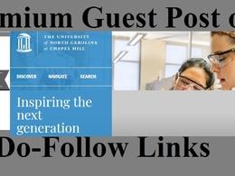 EDU post on University of North Carolina UNC edu DA 91 Education