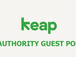 Publish a guest post on Keap.com Blog (ex InfusionSoft)