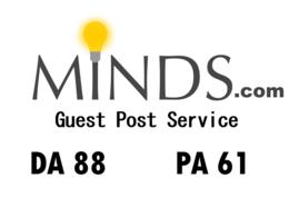 Publish Guest Post on Minds, DA 88 PA 61, Boost your ranking