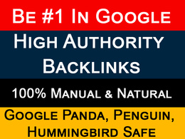 Boost Your Google SEO With HQ Backlinks From Authority Sites