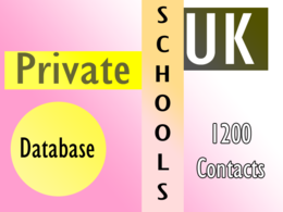 Give you 1200 uk private schools  contact instantly