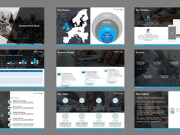 Ready To Use PowerPoint Investor Pitch Deck Template