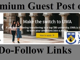 Guest Post on The University of Western Australia uwa edu au