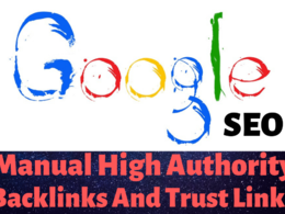 Boost Your Google SEO With Manual High Authority Backlinks