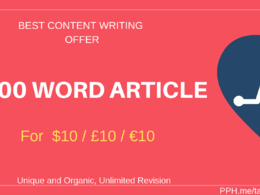 Write organic & well researched 1000 word article or web content