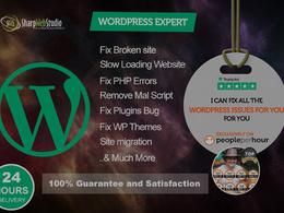 Sharp Web Studio's header