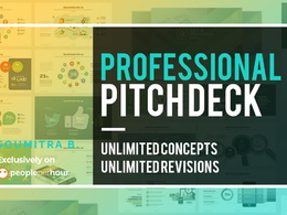Design professional pitch deck