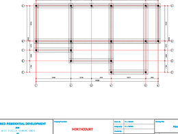 Prepare structural designs from architectural drawings