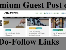 Publish Finance Business Guest post on abcmoney.co.uk - abcmoney