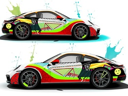 Design Professional Car Wrap For Your Business