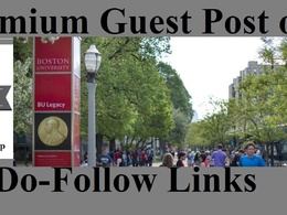 Publish guest post on Boston University BU edu - DA 91 Education