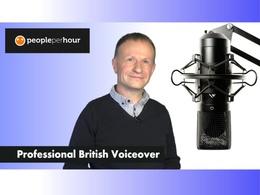 Record voiceover in my warm British voice