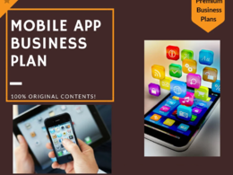 Write your mobile app business plan