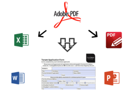 Recover badly scanned PDF documents using OCR