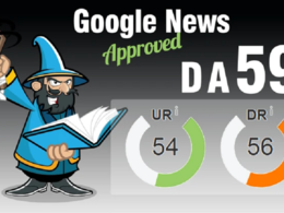 Guest Post On My Google News Approved Da 59 News Blog With Dofol
