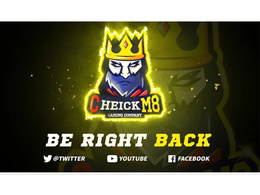 Create an AMAZING BRB, Intro, Static Offline Screen For Twitch