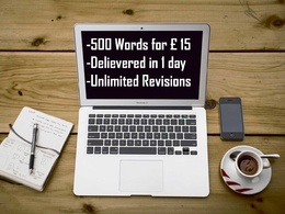 Write an Article(SEO,Feature or Blog) of 500 words on any topic.