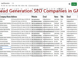Do Targeted Lead Generation, Business Email And Web Research