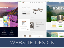 Design a fully responsive website for small businesses