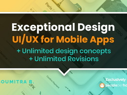 Create Exceptional UI/UX Design for Mobile Apps