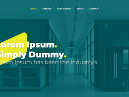 Design creative website home page/landing page