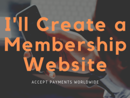 Create a Membership Website to Accept Payments