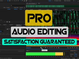 Audio edit your podcast for 24hours