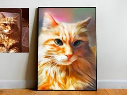 Turn Your Pet Portrait Into Digital Painting