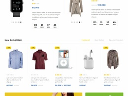 Responsive Ecommerce WordPress / Magento Website Online Store