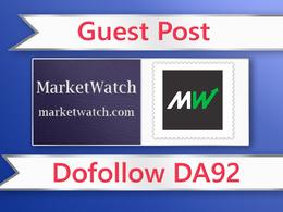 Guest post on MarketWatch- marketwatch.com - DA92