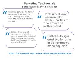 BKS Consultancy's header