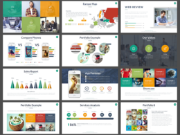 Create a sleek Microsoft PowerPoint presentation design