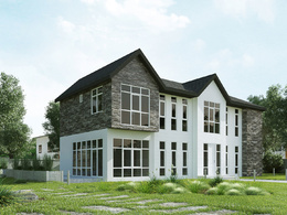 2 x high quality & realistic exterior 3D renderings