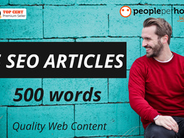 ★Write 5 informative & compelling SEO articles ★ 500 words each★
