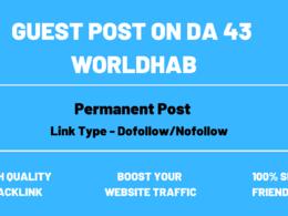 Guest Post On Google News Approved website World Hab DA 43