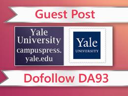 Guest post on Yale University EDU - campuspress.yale.edu - DA93